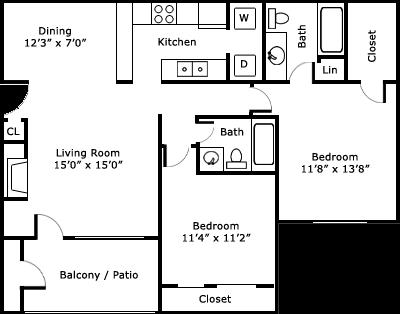 Windcastle Apartment Homes Affordable Apartments In
